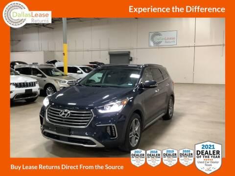 2019 Hyundai Santa Fe XL for sale at Dallas Auto Finance in Dallas TX