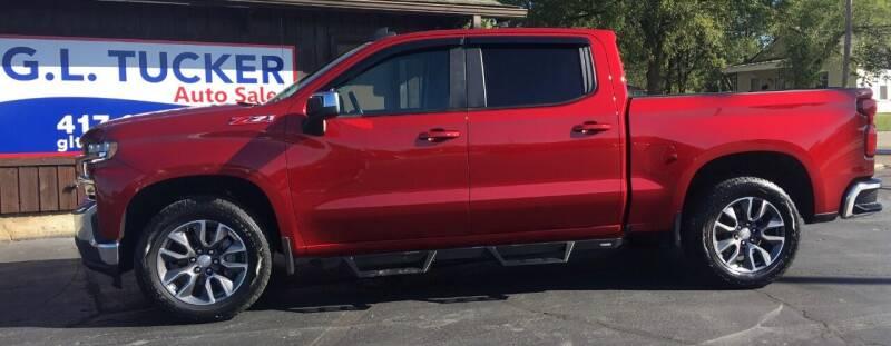 2021 Chevrolet Silverado 1500 for sale at G L TUCKER AUTO SALES in Joplin MO
