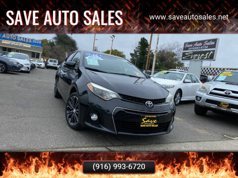 2014 Toyota Corolla for sale at Save Auto Sales in Sacramento CA