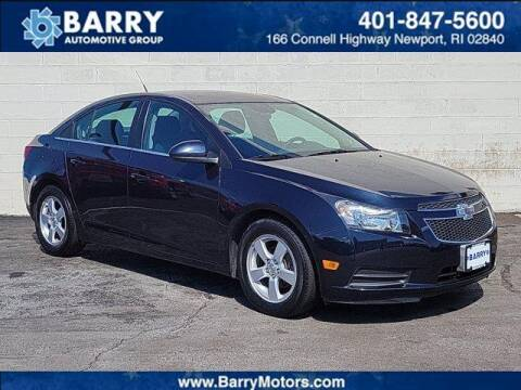 2014 Chevrolet Cruze for sale at BARRYS Auto Group Inc in Newport RI