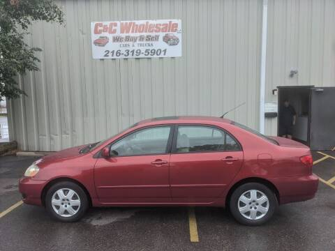 2008 Toyota Corolla for sale at C & C Wholesale in Cleveland OH