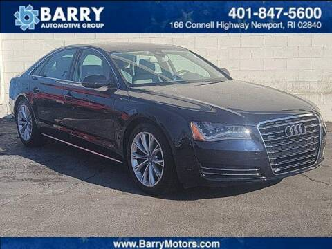 2011 Audi A8 for sale at BARRYS Auto Group Inc in Newport RI
