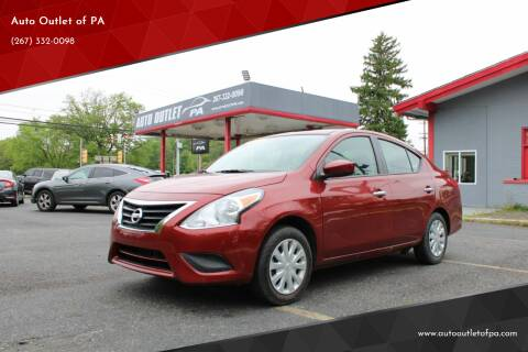 2019 Nissan Versa for sale at Deals N Wheels 306 in Burlington NJ