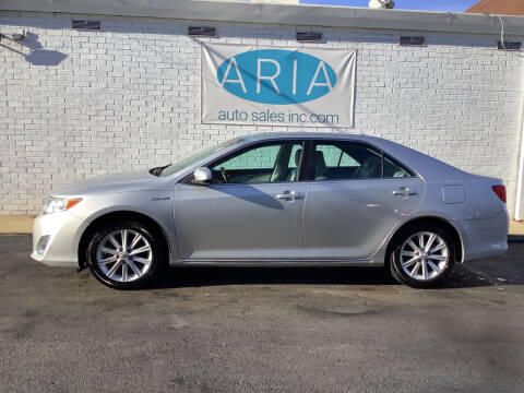 2012 Toyota Camry Hybrid for sale at ARIA  AUTO  SALES in Raleigh NC