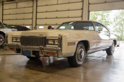 1976 Cadillac Eldorado for sale at Gary Miller's Classic Auto in El Paso IL