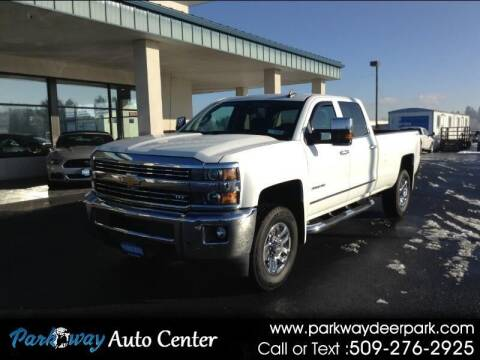 2015 Chevrolet Silverado 3500HD for sale at PARKWAY AUTO CENTER AND RV in Deer Park WA