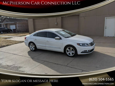 2014 Volkswagen CC for sale at McPherson Car Connection LLC in Mcpherson KS