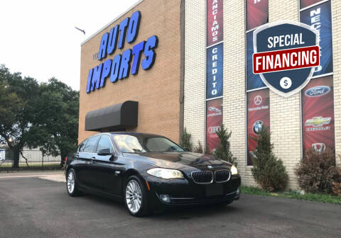 2012 BMW 5 Series for sale at Auto Imports in Houston TX