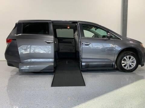 2016 Honda Odyssey for sale at AMS Vans in Tucker GA