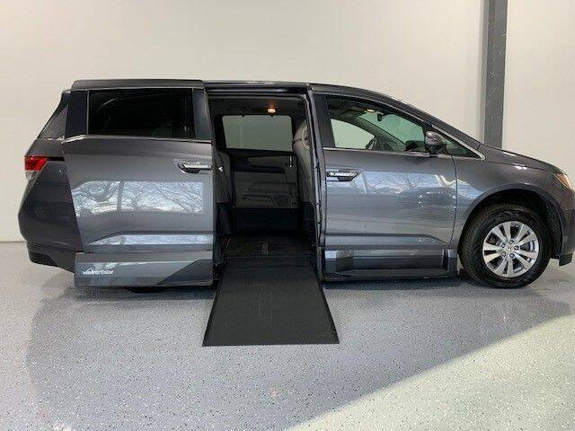 2016 Honda Odyssey for sale at AMS Vans in Tucker GA