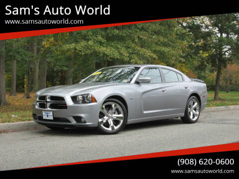 2013 Dodge Charger for sale at Sam's Auto World in Roselle NJ