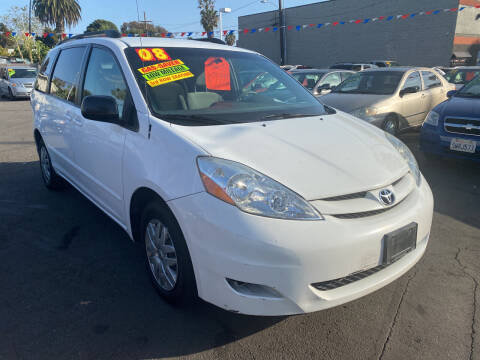 2008 Toyota Sienna for sale at North County Auto in Oceanside CA
