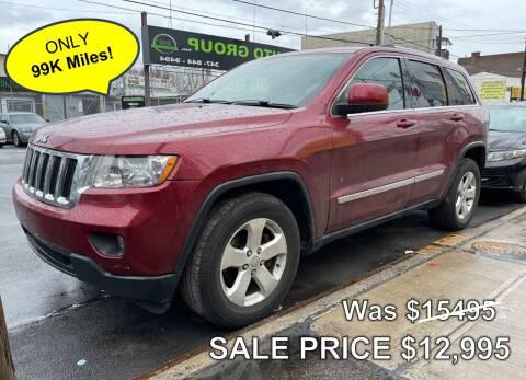 2013 Jeep Grand Cherokee for sale at Cypress Motors of Ridgewood in Ridgewood NY