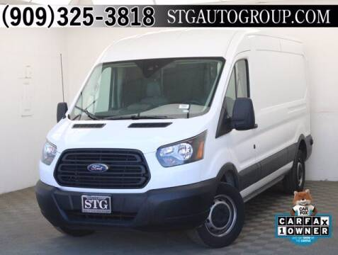 2019 Ford Transit Cargo for sale at STG Auto Group in Montclair CA