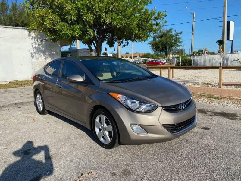 2013 Hyundai Elantra for sale at FINE AUTO XCHANGE in Oakland Park FL