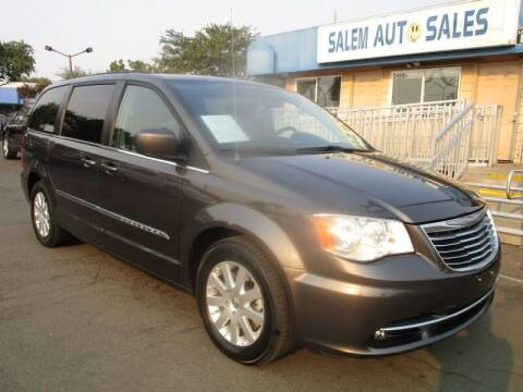2016 Chrysler Town and Country for sale at Salem Auto Sales in Sacramento CA