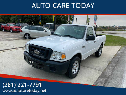 2007 Ford Ranger for sale at AUTO CARE TODAY in Spring TX