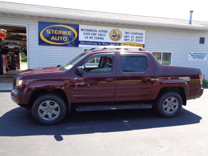 2008 Honda Ridgeline for sale at STEINKE AUTO INC. - Steinke Auto Inc (South) in Clintonville WI