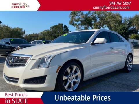 2014 Cadillac ATS for sale at Sunny Florida Cars in Bradenton FL