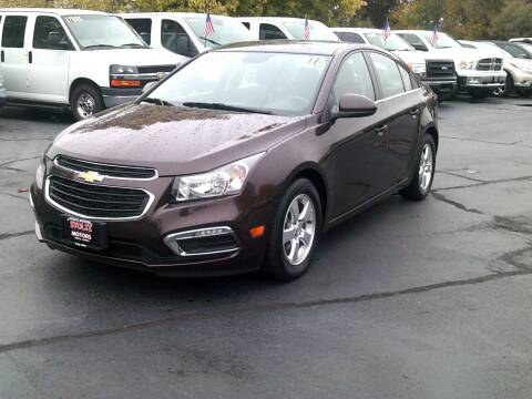 2015 Chevrolet Cruze for sale at Stoltz Motors in Troy OH