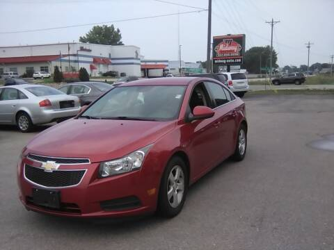 2012 Chevrolet Cruze for sale at Midway Auto Sales in Rochester MN