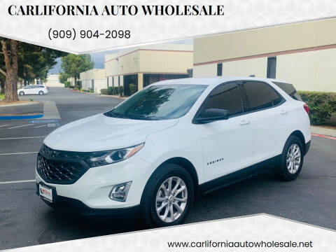 2018 Chevrolet Equinox for sale at CARLIFORNIA AUTO WHOLESALE in San Bernardino CA