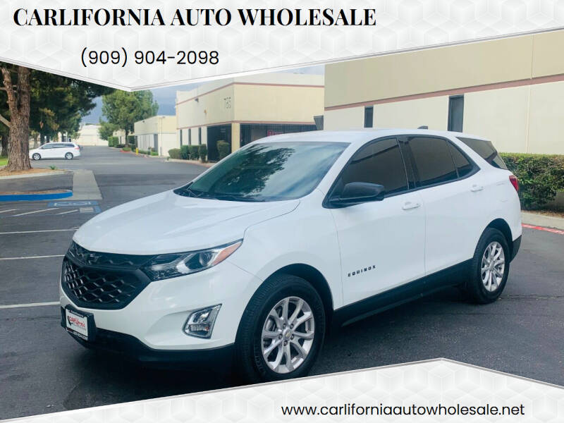 2018 Chevrolet Equinox for sale at CARLIFORNIA AUTO WHOLESALE in San Bernardino CA