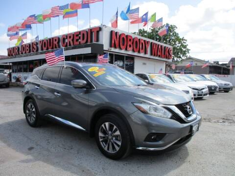 2015 Nissan Murano for sale at Giant Auto Mart 2 in Houston TX