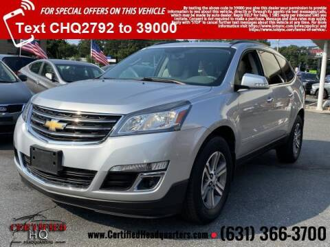 2015 Chevrolet Traverse for sale at CERTIFIED HEADQUARTERS in Saint James NY