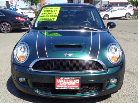 2009 MINI Cooper for sale at Vallejo Motors in Vallejo CA