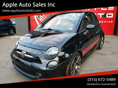 2015 FIAT 500 for sale at Apple Auto Sales Inc in Camillus NY