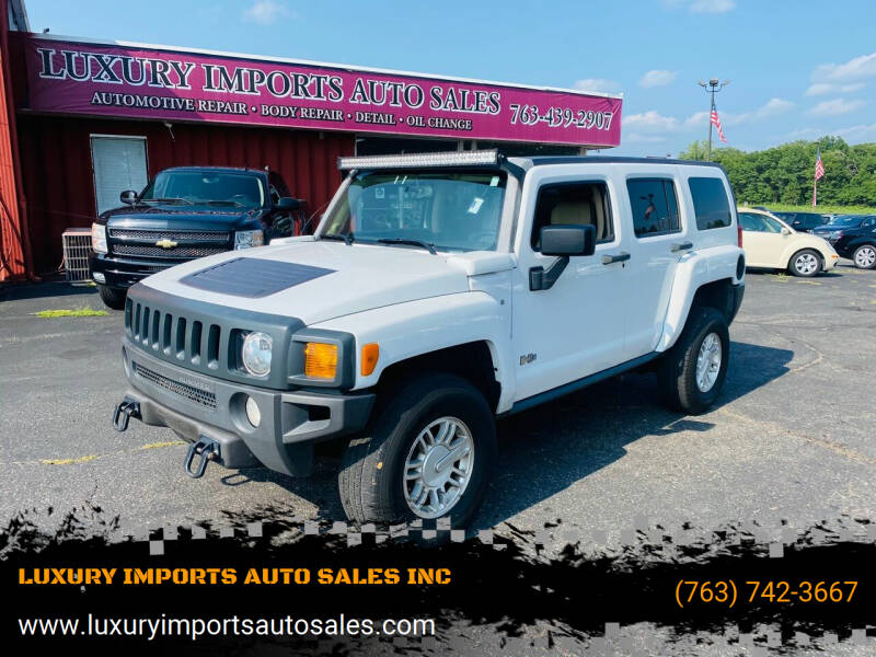 2007 HUMMER H3 for sale at LUXURY IMPORTS AUTO SALES INC in North Branch MN