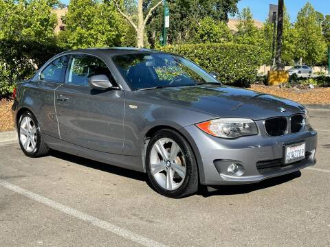 2012 BMW 1 Series for sale at CARFORNIA SOLUTIONS in Hayward CA