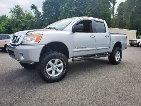 2012 Nissan Titan for sale at Brown's Used Auto in Belmont NC