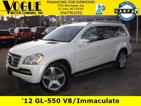 2012 Mercedes-Benz GL-Class for sale at Vogue Motor Company Inc in Saint Louis MO