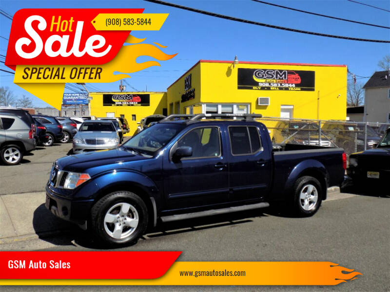 2007 Nissan Frontier for sale at GSM Auto Sales in Linden NJ