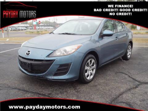 2011 Mazda MAZDA3 for sale at Payday Motors in Wichita KS