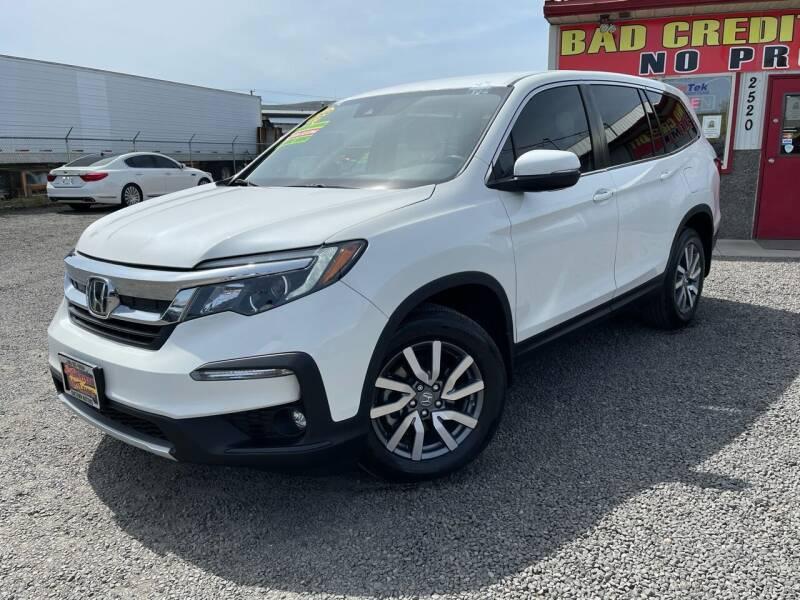 2019 Honda Pilot for sale at Yaktown Motors in Union Gap WA
