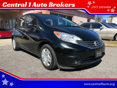 2014 Nissan Versa Note for sale at Central 1 Auto Brokers in Virginia Beach VA