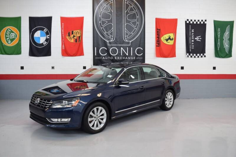 2013 Volkswagen Passat for sale at Iconic Auto Exchange in Concord NC