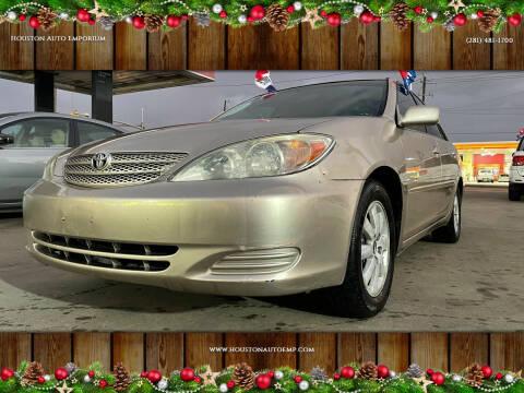 2002 Toyota Camry for sale at Houston Auto Emporium in Houston TX