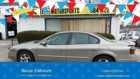 2004 Pontiac Bonneville for sale at Route 3 Motors in Broomall PA