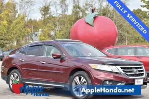 2014 Honda Crosstour for sale at APPLE HONDA in Riverhead NY