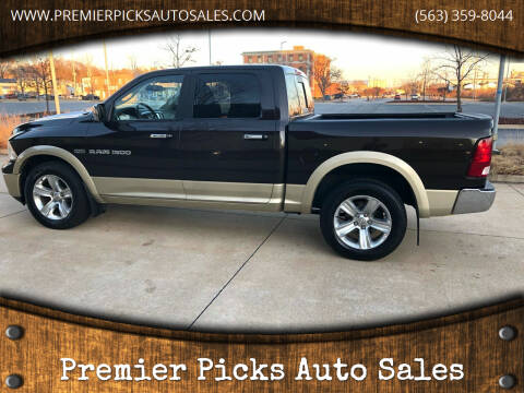 2011 RAM Ram Pickup 1500 for sale at Premier Picks Auto Sales in Bettendorf IA