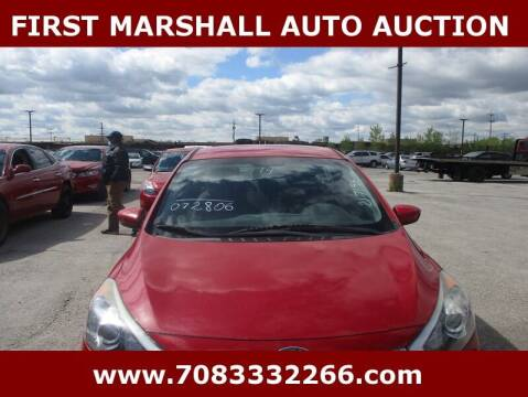 2014 Kia Forte for sale at First Marshall Auto Auction in Harvey IL