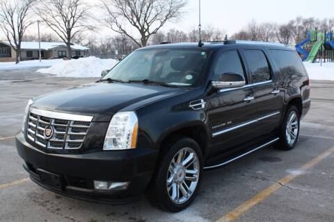 2013 Cadillac Escalade ESV for sale at A-Auto Luxury Motorsports in Milwaukee WI