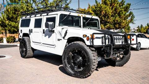 1997 AM General Hummer for sale at MUSCLE MOTORS AUTO SALES INC in Reno NV