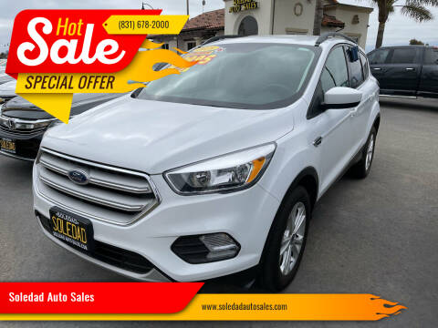 2018 Ford Escape for sale at Soledad Auto Sales in Soledad CA