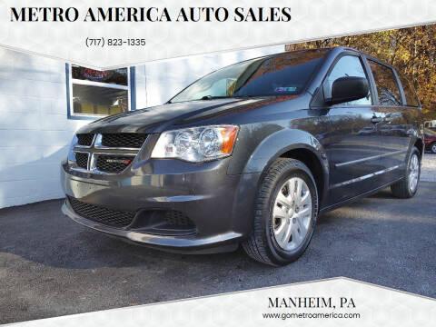 2014 Dodge Grand Caravan for sale at METRO AMERICA AUTO SALES of Manheim in Manheim PA