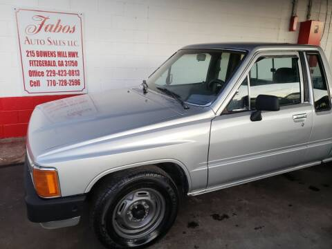 1985 Toyota Pickup for sale at Fabos Auto Sales LLC in Fitzgerald GA